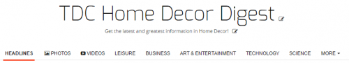 TDC Home Decor Digest