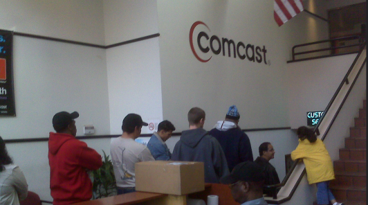 Comcast Customer Service Reps